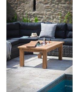 Gartentisch Landhaus 120x70 Teakholz