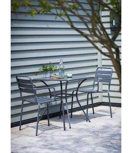 Garten Englisches Gartenmöbelset, 3-teilig - charcoal