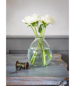 Garten Große elegante Glasvase