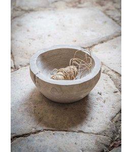 Garten Rustikale Holzschüssel aus England