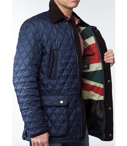 "Wellington of Bilmore Steppjacke ""Dalton"" in Navy"