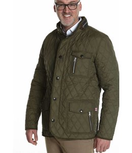 "Wellington of Bilmore Steppjacke ""Johnny"" in Olive"
