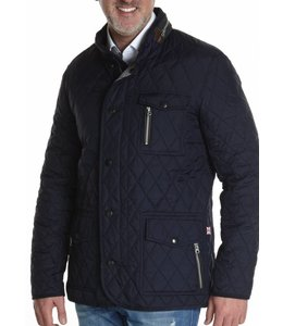 "Wellington of Bilmore Steppjacke ""Johnny"" in Navy"