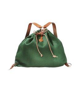 Rucksäcke Rucksack Leinen, grün