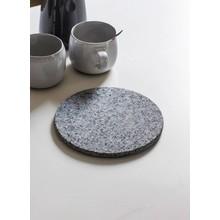 Gartendekoration Landhausstil Topfuntersetzer Granit
