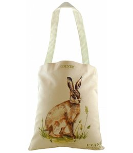 Shabby Chic Country Shopper Hase