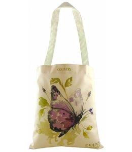 Shopper Landhausstil Country Shopper Schmetterling