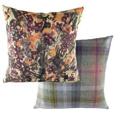 """Evans Lichfield Country Manor """"Floral Heather"""" Dekokissen im englischen Landhausstil"""