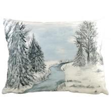 Evans Lichfield Kissen Winterlandschaft