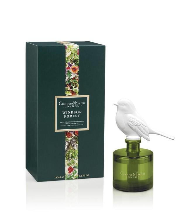 Crabtree & Evelyn Windsor Forest Porcelain Diffuser 180ml
