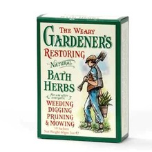 Kräuter-Badebeutel für Gärtner
