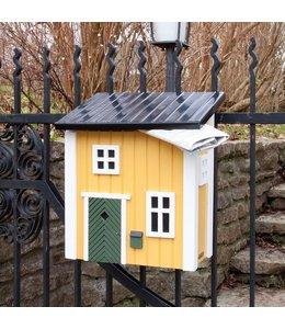 Landhaus Briefkasten gelb