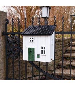 Landhaus Briefkasten weiß