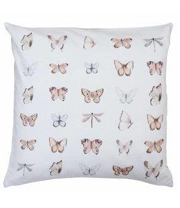 Landhaus Kissenhülle Schmetterlinge