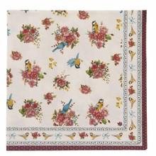 Wohnaccessoires Landhausstil Papierservietten Rosenträume