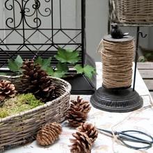 Wohnaccessoires Landhausstil Gartenschnurhalter mit Blumenschere