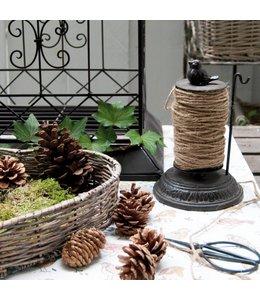 Landhaus Gartenschnurhalter mit Blumenschere