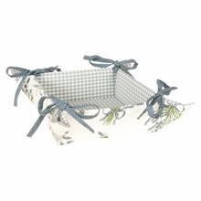 """Wohnaccessoires Landhausstil Brotkörbchen """"Lavendel der Provence"""""""