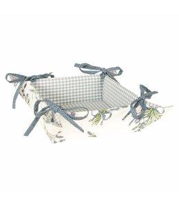 "Shabby Chic Brotkörbchen ""Lavendel der Provence"""