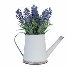 Wohnaccessoires Landhausstil Gießkanne mit Lavendel
