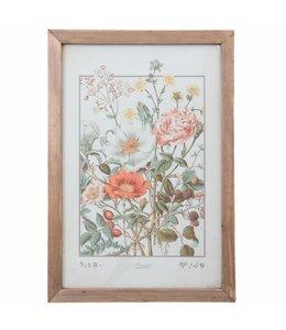Wandbilder Wandbild mit Blumen