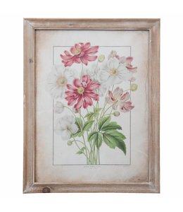 Landhaus Wandbild Blumen