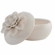 Wohnaccessoires Landhausstil Schmuckdose Keramik