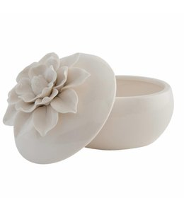 Garten Schmuckdose Keramik