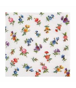 """Landhaus Papierservietten """"Blumen"""""""