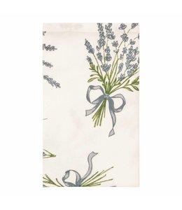"""Landhaus Stoffservietten """"Lavendel der Provence"""" Baumwolle, 6er Set"""