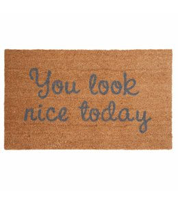 "Türmatte ""You look nice today"" 75x45"