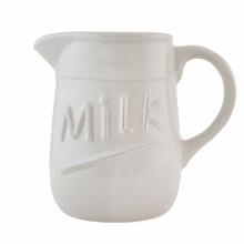 Wohnaccessoires Landhausstil Milchkännchen Keramik 0,75 Liter