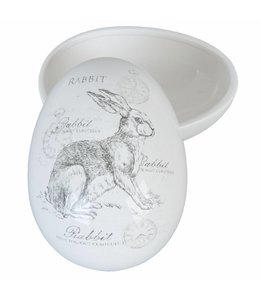 Landhaus Osterei Keramik
