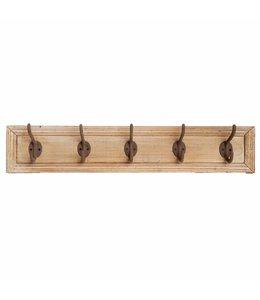 Wandgarderobe Holz