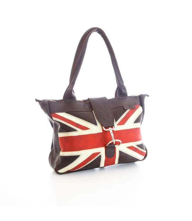 "Englische Handtasche ""British Flag Weekend Bag"""