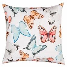 Wohnaccessoires Landhausstil Kissenhülle Schmetterlinge