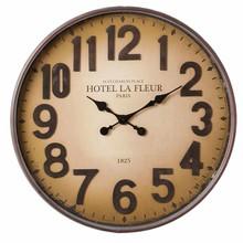 """Wohnaccessoires Landhausstil Wanduhr Hotel La Fleur Paris"""""""