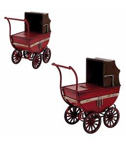 """Garten Nostalgische Spardose """"Kinderwagen"""""""
