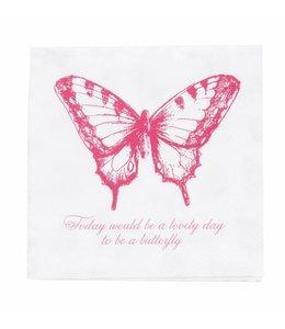 """Landhaus Papierservietten """"Schmetterling"""""""