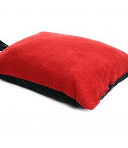 Tweedmill  Kniekissen Fleece rot