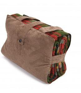 """Tweedmill Englische Picknickdecke Ascot """"Dark Maple"""""""