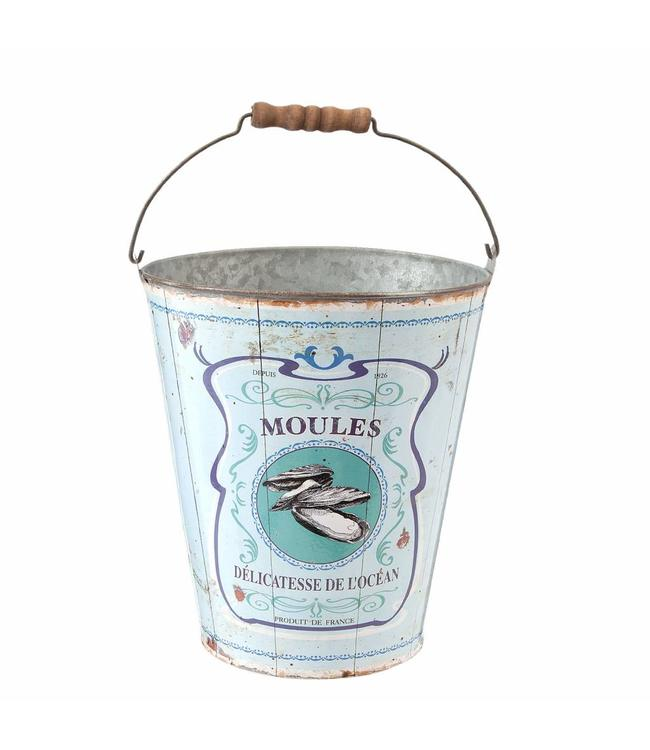 Shabby Chic Eimer Moules