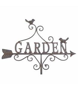 "Garten Gartenschild ""Garden"""