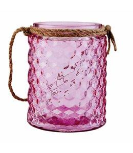 Teelichthalter rosa