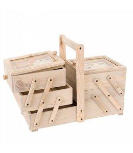 Landhaus Nähkasten Holz