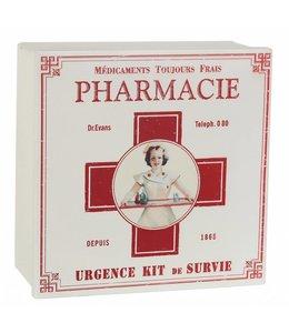 Landhaus Nostalgische Medikamentenbox, Verbandskasten