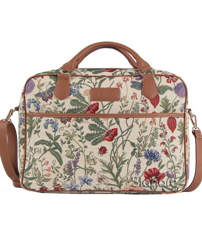 "Country Style Businesstasche ""Morning Garden"""