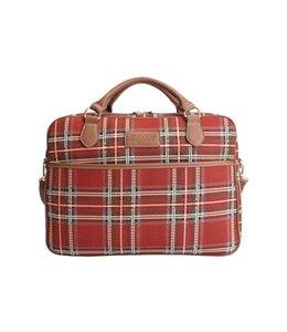 """Country Style Businesstasche """"Royal Stewart Tartan"""""""