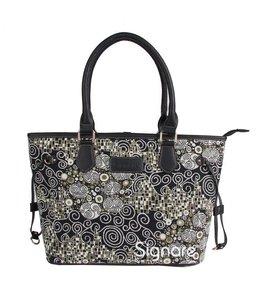 """Garten Damenhandtasche """"Schwarz & Weiß"""""""