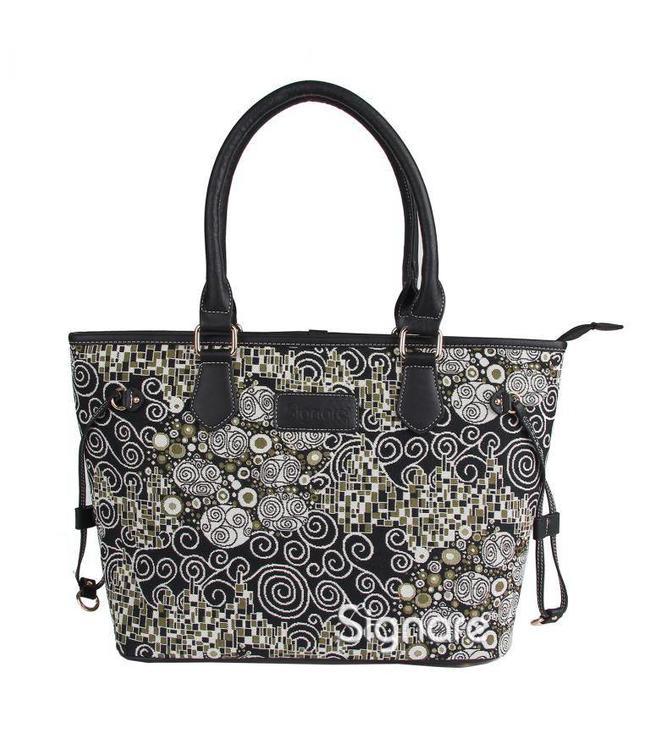 """Damenhandtasche """"Schwarz & Weiß"""""""